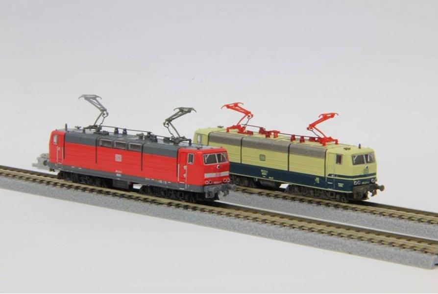 De eerste Europese modellen van Rokuhan